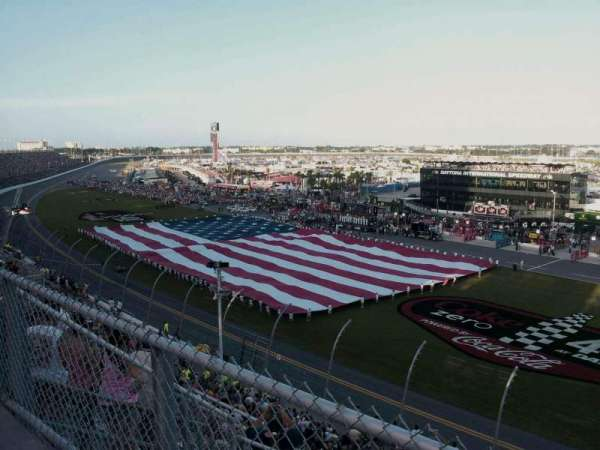 Daytona International Speedway, secção: Sprint tower., fila: 34, lugar: 45