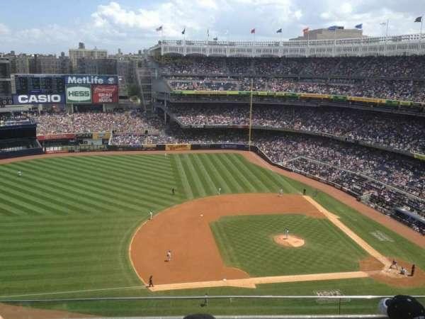 Yankee Stadium, secção: 425, fila: 4, lugar: 15