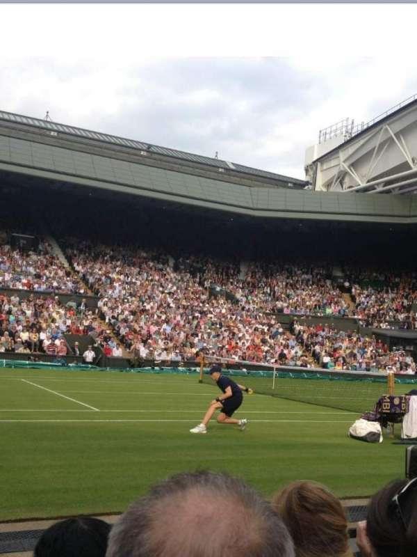 Wimbledon, Centre Court, secção: 105, fila: C, lugar: 063