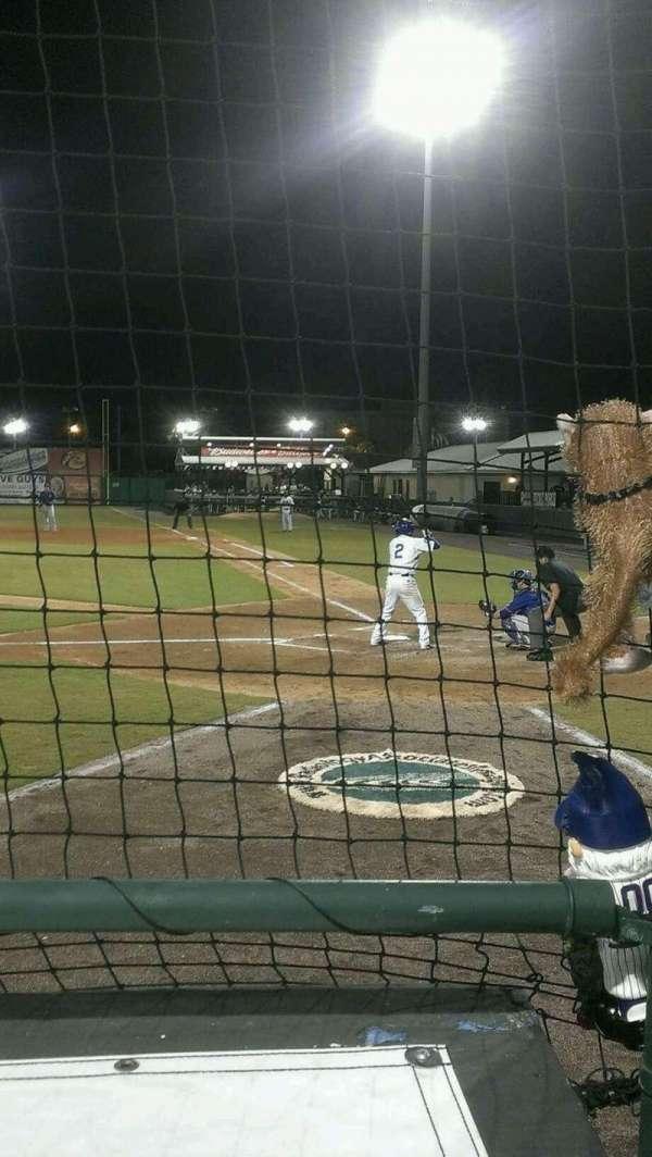 Jackie Robinson Ballpark, secção: W, fila: 2, lugar: 9