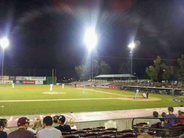 San Manuel Stadium, secção: 113, fila: K, lugar: 10
