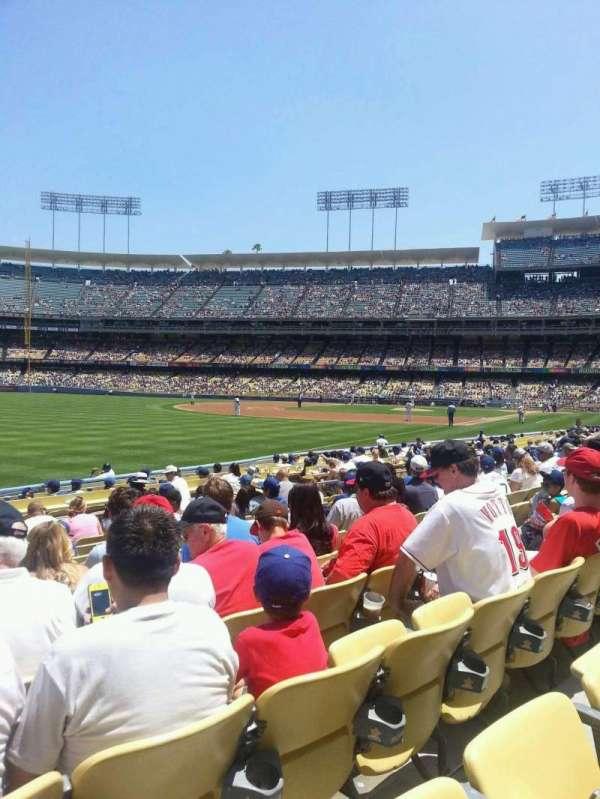 Dodger Stadium, secção: 45FD, fila: K, lugar: 20