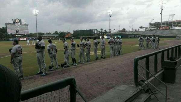 Baseball Grounds of Jacksonville, secção: D5, fila: D, lugar: 10