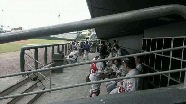 Baseball Grounds of Jacksonville, secção: D4, fila: D, lugar: 10