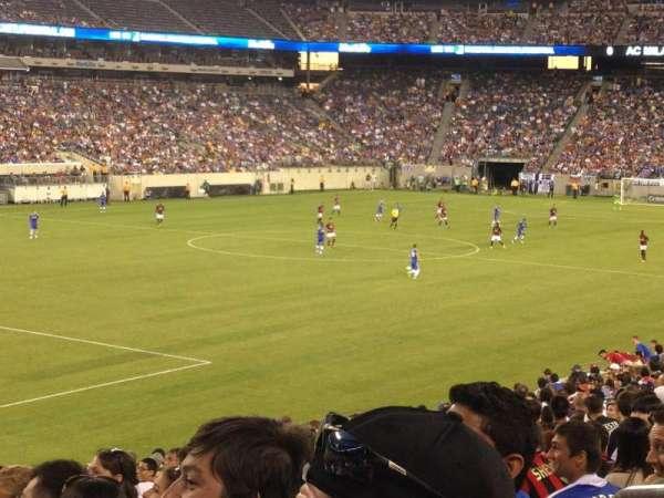 MetLife Stadium, secção: 121, fila: 26, lugar: 3