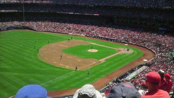 Busch Stadium, secção: 363, fila: 5, lugar: 18
