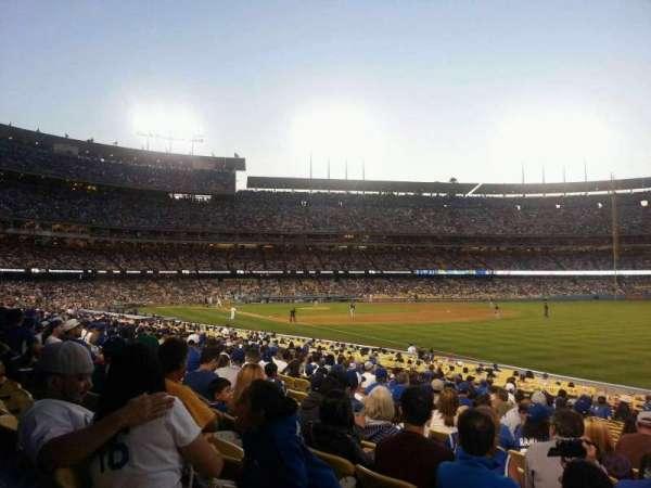 Dodger Stadium, secção: 44FD, fila: S, lugar: 15