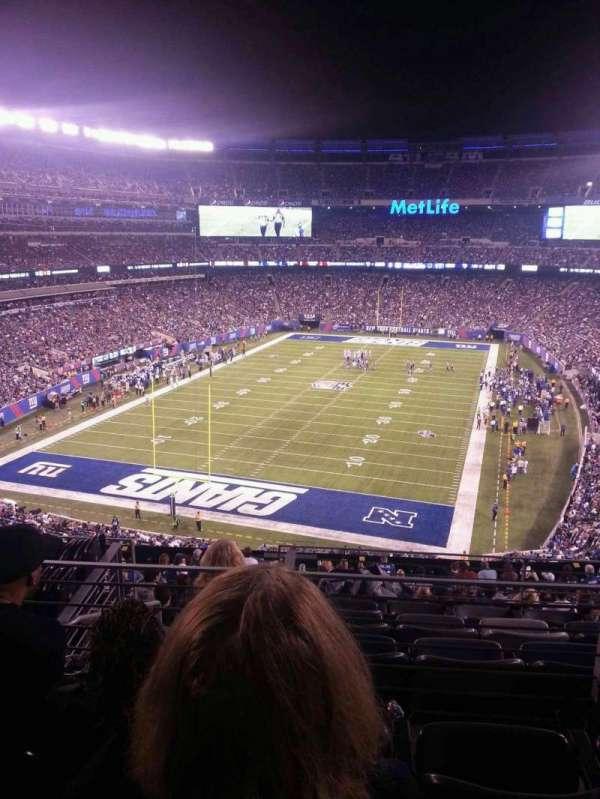 MetLife Stadium, secção: 224B, fila: 3, lugar: 12