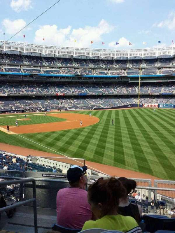 Yankee Stadium, secção: 209, fila: 5, lugar: 18