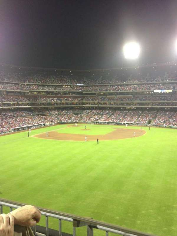 Citizens Bank Park, secção: 201, fila: 2, lugar: 6
