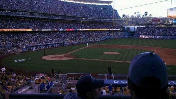 Dodger Stadium, secção: 130LG, fila: c, lugar: 3