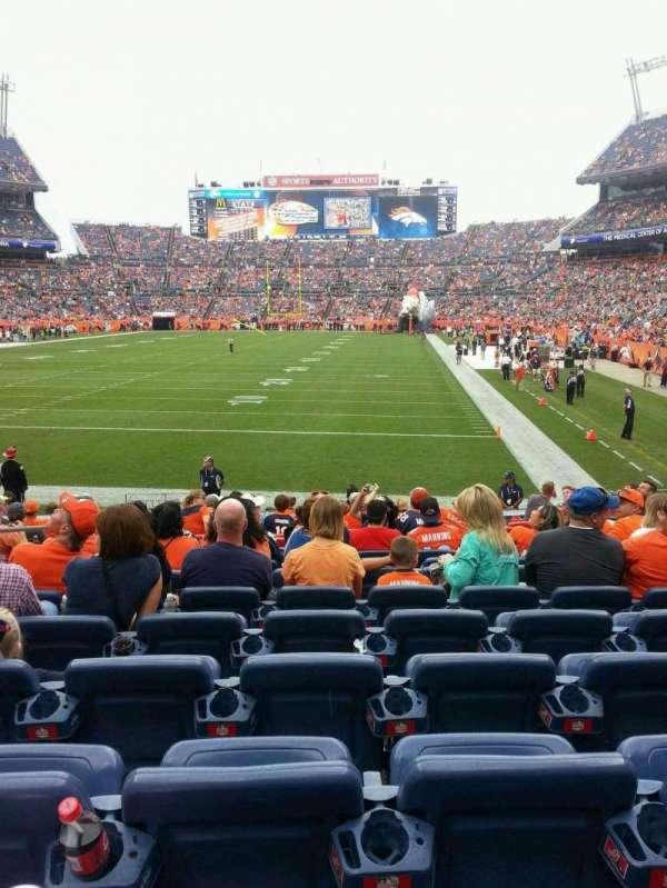Broncos Stadium at Mile High, secção: 112, fila: 14, lugar: 15