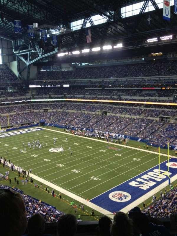 Lucas Oil Stadium, secção: 506, fila: 5N, lugar: 9
