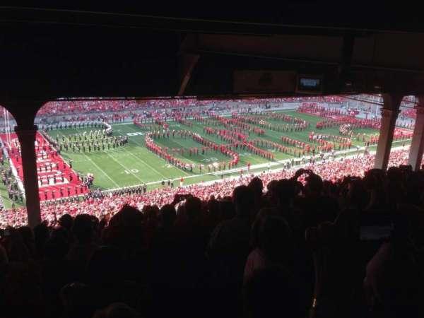 Ohio Stadium, secção: 26B, fila: 18, lugar: 30