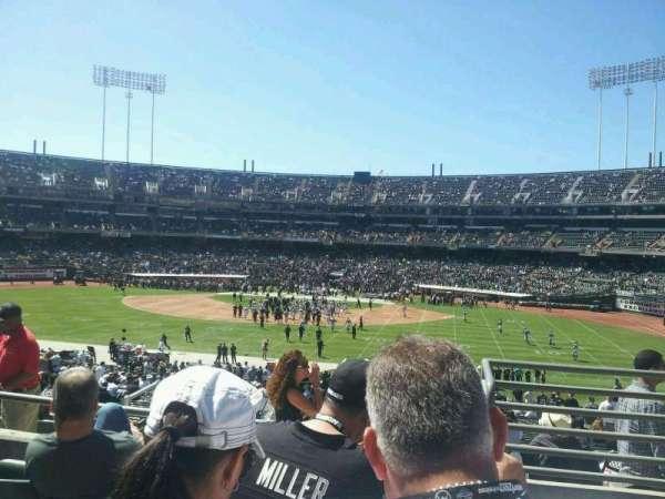 Oakland Coliseum, secção: 139