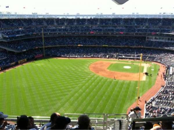 Yankee Stadium, secção: 434A, fila: 12, lugar: 1