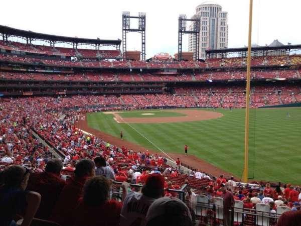 Busch Stadium, secção: 130, fila: 23, lugar: 12