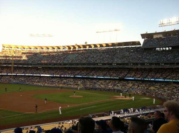 Dodger Stadium, secção: 145LG, fila: F, lugar: 1
