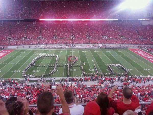 Ohio Stadium, secção: 21c, fila: 4, lugar: 8