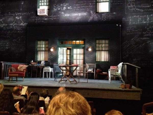 Berlind Theatre, secção: Floor1, fila: C, lugar: 102