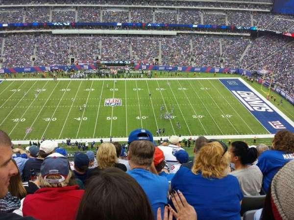 MetLife Stadium, secção: 313, fila: 10, lugar: 16