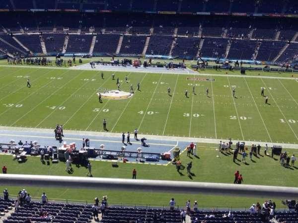 San Diego Stadium, secção: Lv7, fila: 2, lugar: 14