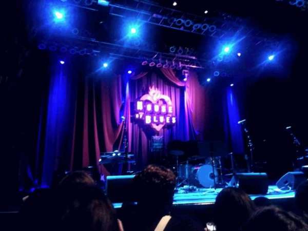 House of Blues - Dallas, secção: GA