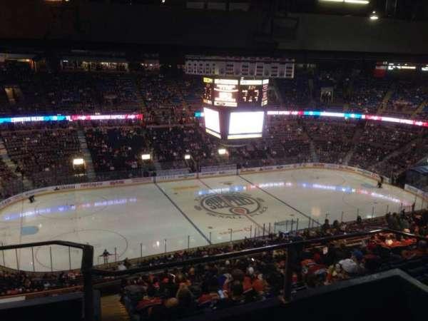 Northlands Coliseum, secção: 303, fila: 44, lugar: 11