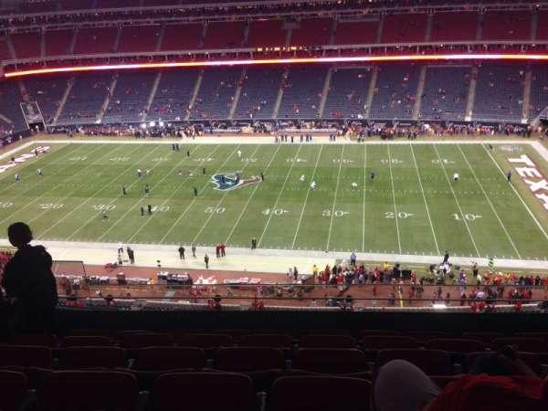 NRG Stadium, secção: 506, fila: M, lugar: 23