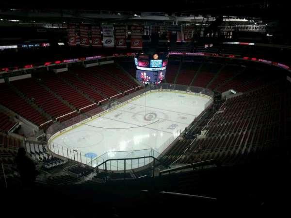 PNC Arena, secção: 311, fila: J, lugar: 1
