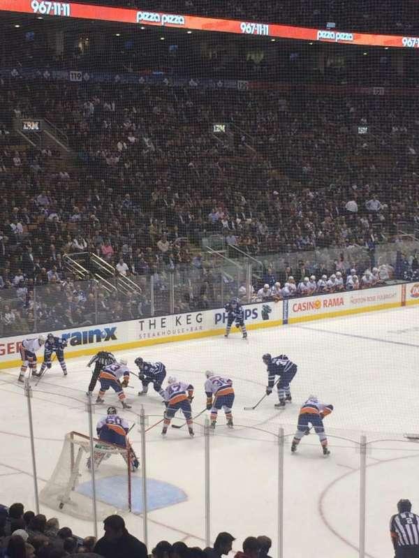 Scotiabank Arena, secção: 112, fila: 20, lugar: 10