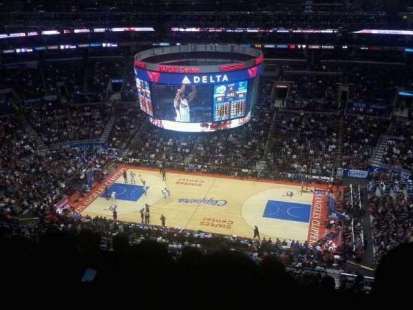 Staples Center, secção: 334, fila: 12, lugar: 5