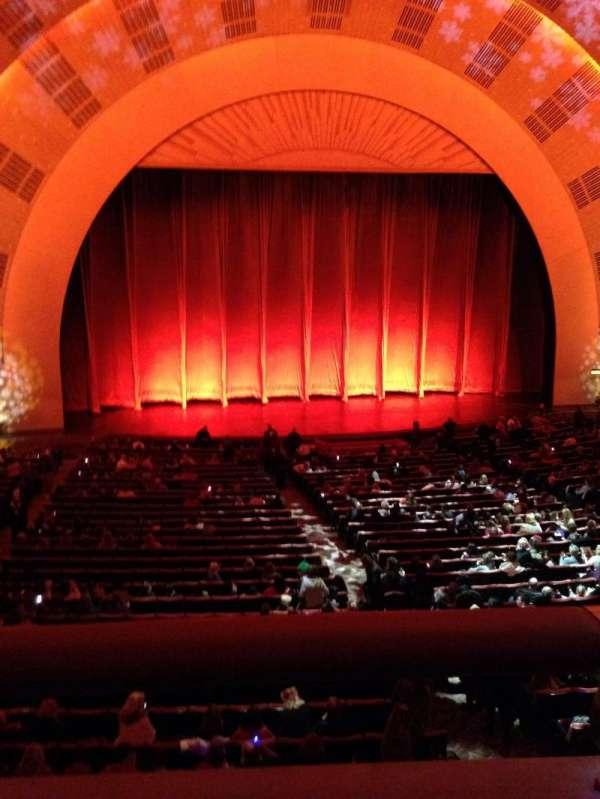 Radio City Music Hall, secção: 1st mezzanine 5, fila: A, lugar: 510