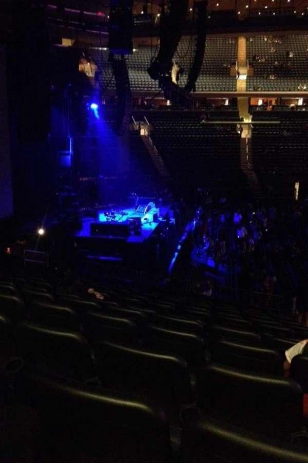 Madison Square Garden, secção: 115, fila: 17, lugar: 19