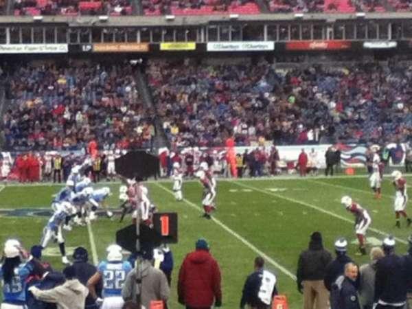 Nissan Stadium, secção: 135, fila: F, lugar: 14