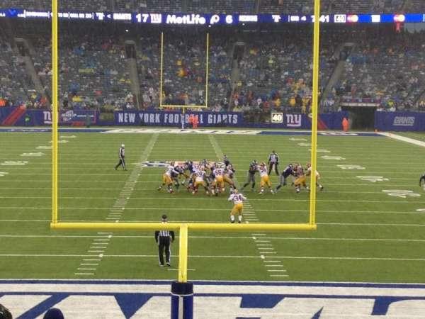 MetLife Stadium, secção: 101, fila: 17, lugar: 13-14