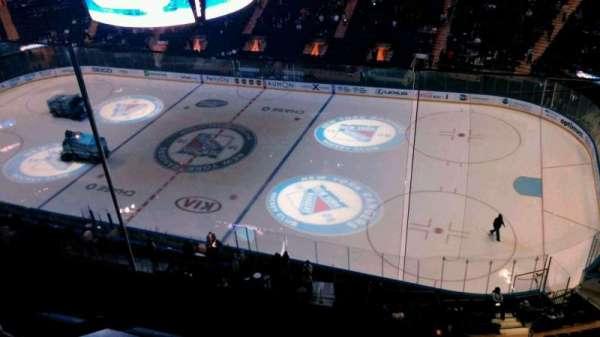 Madison Square Garden, secção: 315, fila: 2, lugar: 9