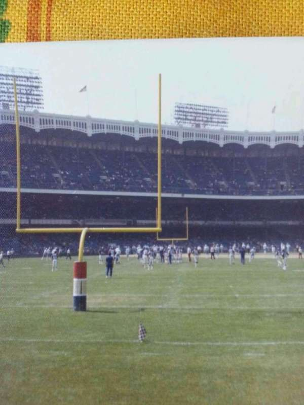 Old Yankee Stadium, secção: 41, fila: a, lugar: 1
