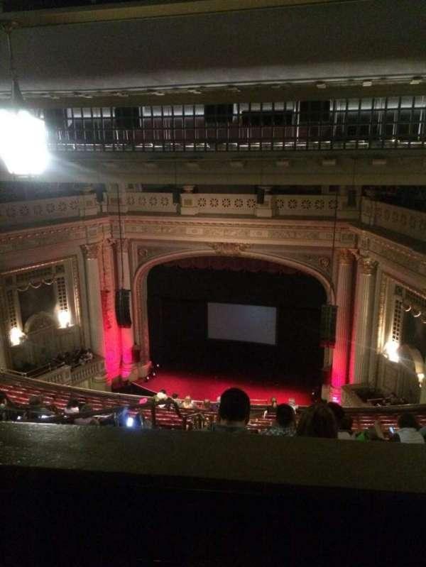 Majestic Theatre - Dallas, secção: F-balc, fila: Q, lugar: 5
