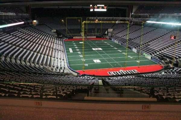 VyStar Veterans Memorial Arena, secção: St. Johns Suite, fila: 1, lugar: 74