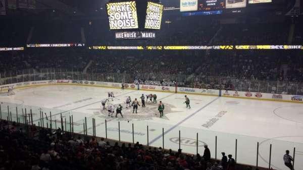 Allstate Arena, secção: 201, fila: A, lugar: 29