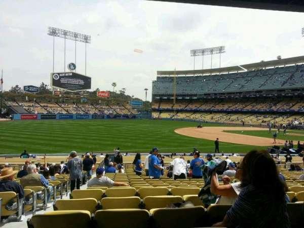 Dodger Stadium, secção: 37fd, fila: v, lugar: 7