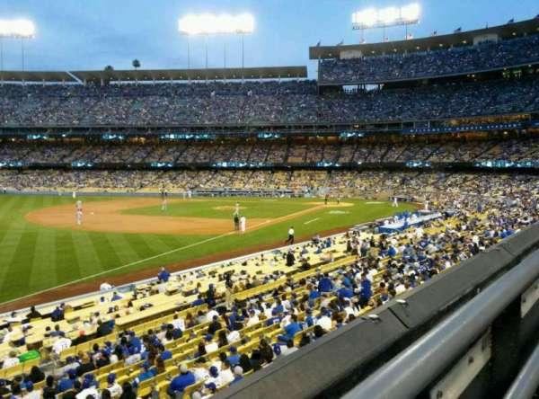 Dodger Stadium, secção: 157LG, fila: A, lugar: 4
