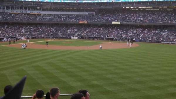 Yankee Stadium  , secção: 202, fila: 11