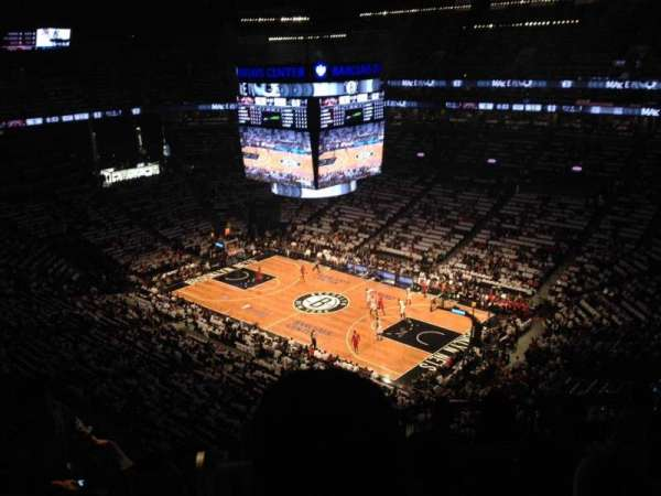 Barclays Center, secção: 220, fila: 13, lugar: 16