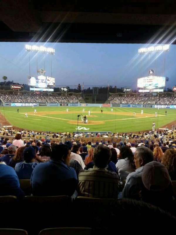 Dodger Stadium, secção: 2FD, fila: W, lugar: 15