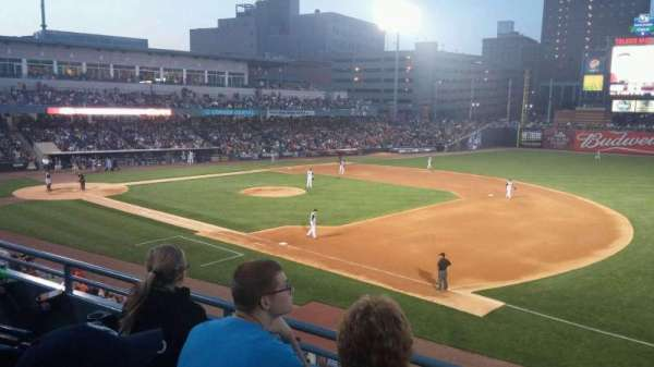 Fifth Third Field, secção: 216, fila: C, lugar: 7