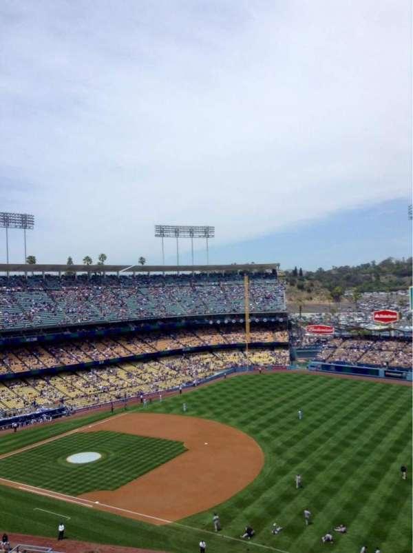 Dodger Stadium, secção: 32RS, fila: 11, lugar: 22