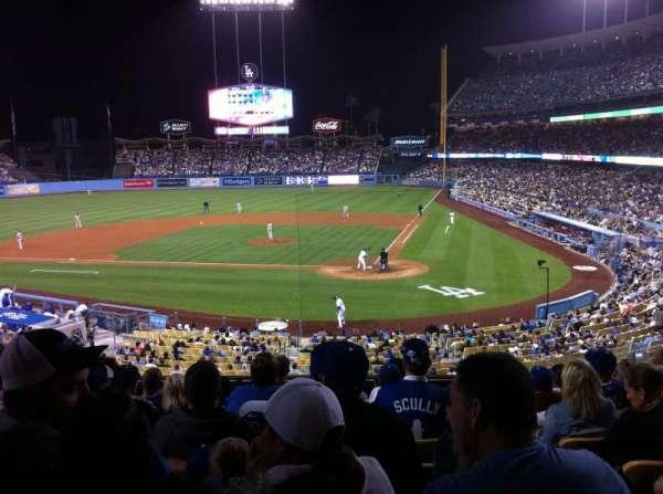 Dodger Stadium, secção: 115LG, fila: H, lugar: 2