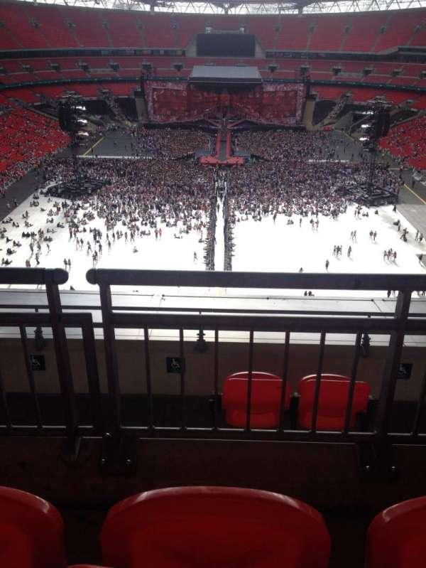 Wembley Stadium, secção: 514, fila: 16, lugar: 1